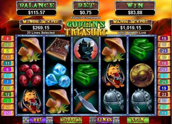 goblins treasure slot