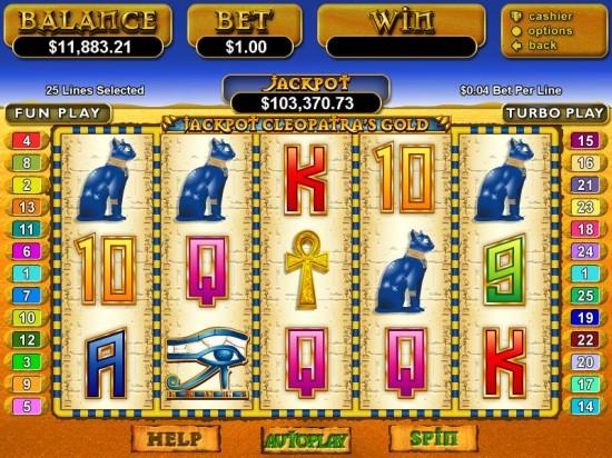 cleopatras gold slot