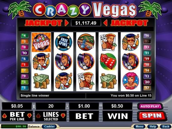 crazy vegas slots club usa casino