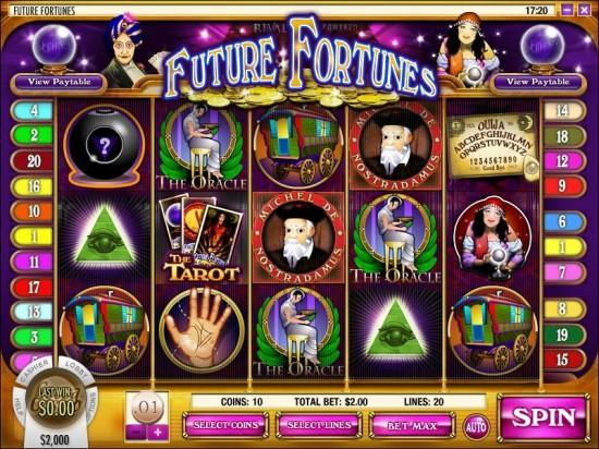 future fortunes video slot