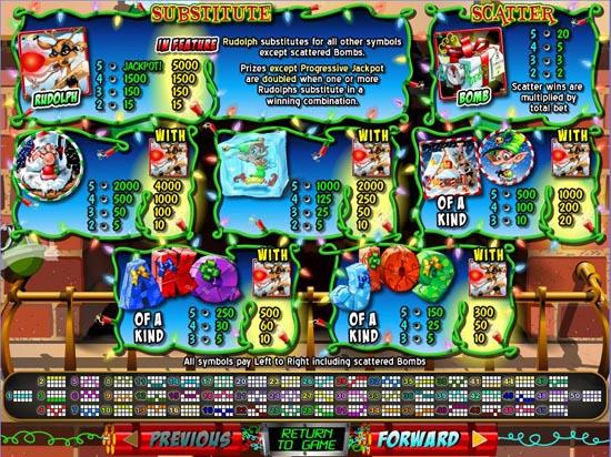 rudolphs revenge slot game