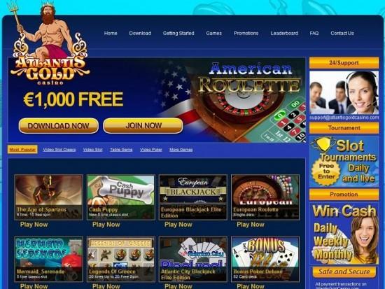 atlantis gold casino